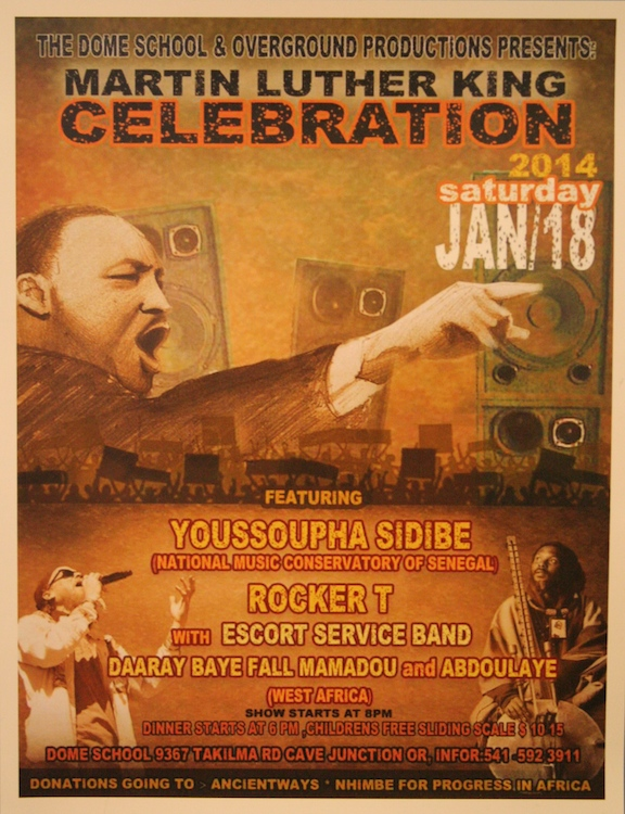 MLK Celebration flyer