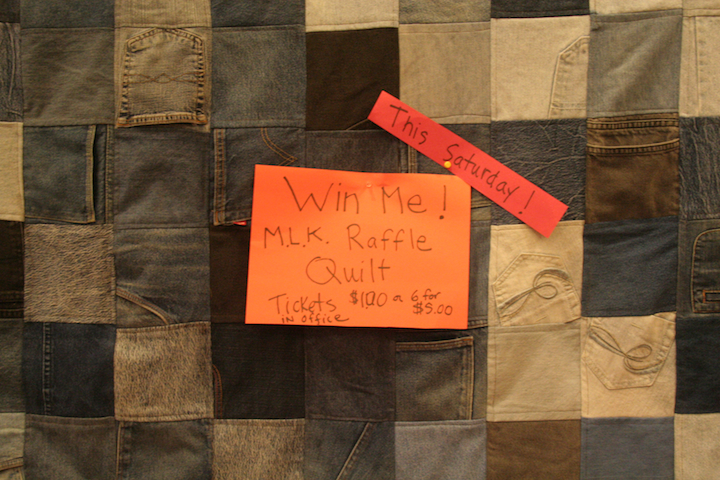 MLK Celebration raffle quilt