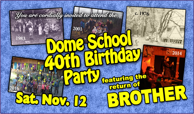 Dome School 40th